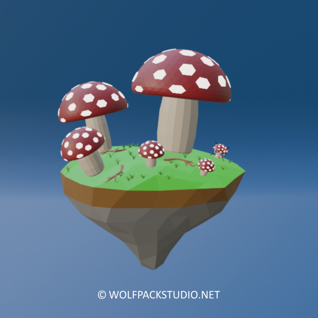 Glowing Mushrooms day